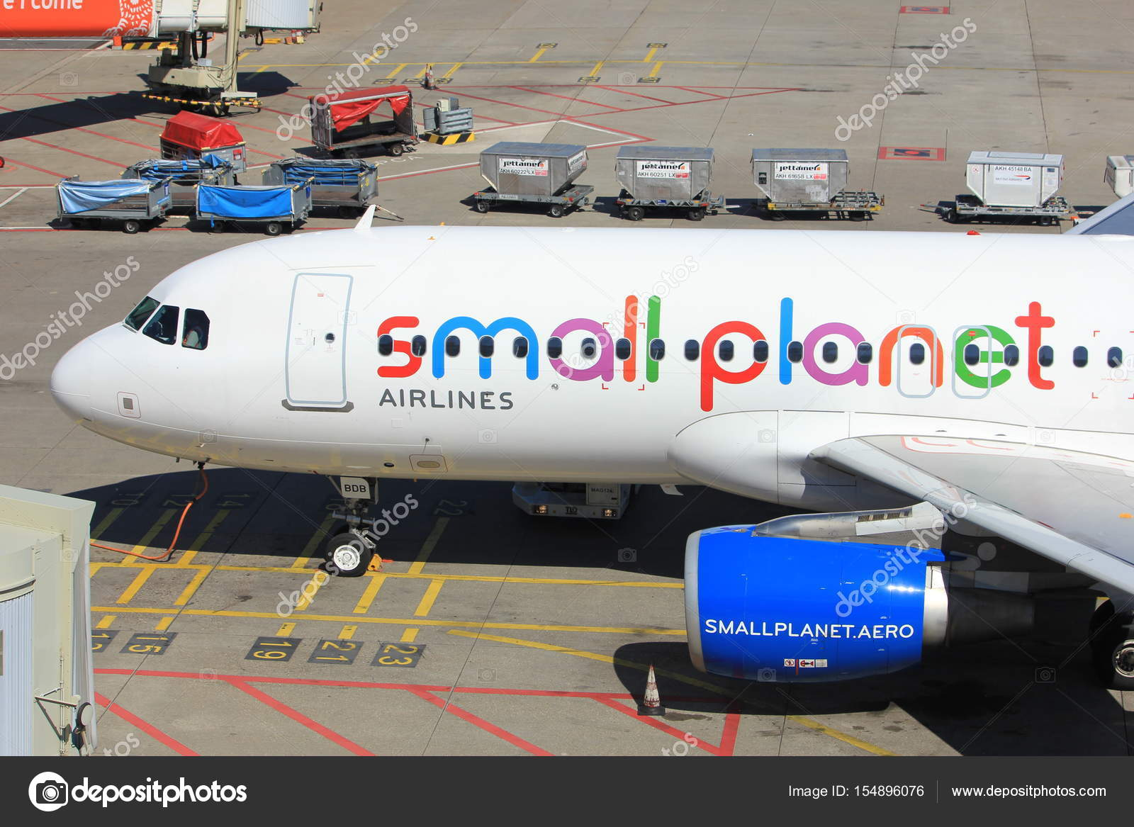 Amsterdam Niederlande 26 Mai 2017 D Abdb Small Planet Airlines
