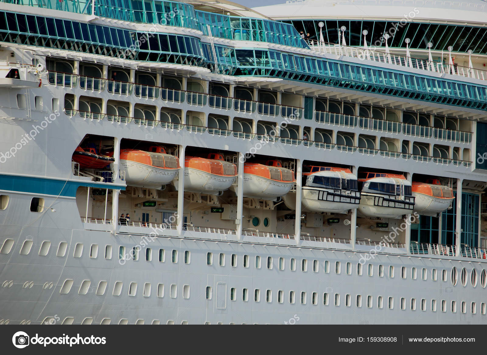Velsen, The Netherlands - June 3rd 2017: Vision of the Seas