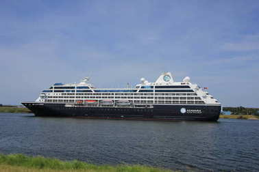 Velsen, The Netherlands - June 21st 2017: Azamara Journey - Azamara Club Cruises