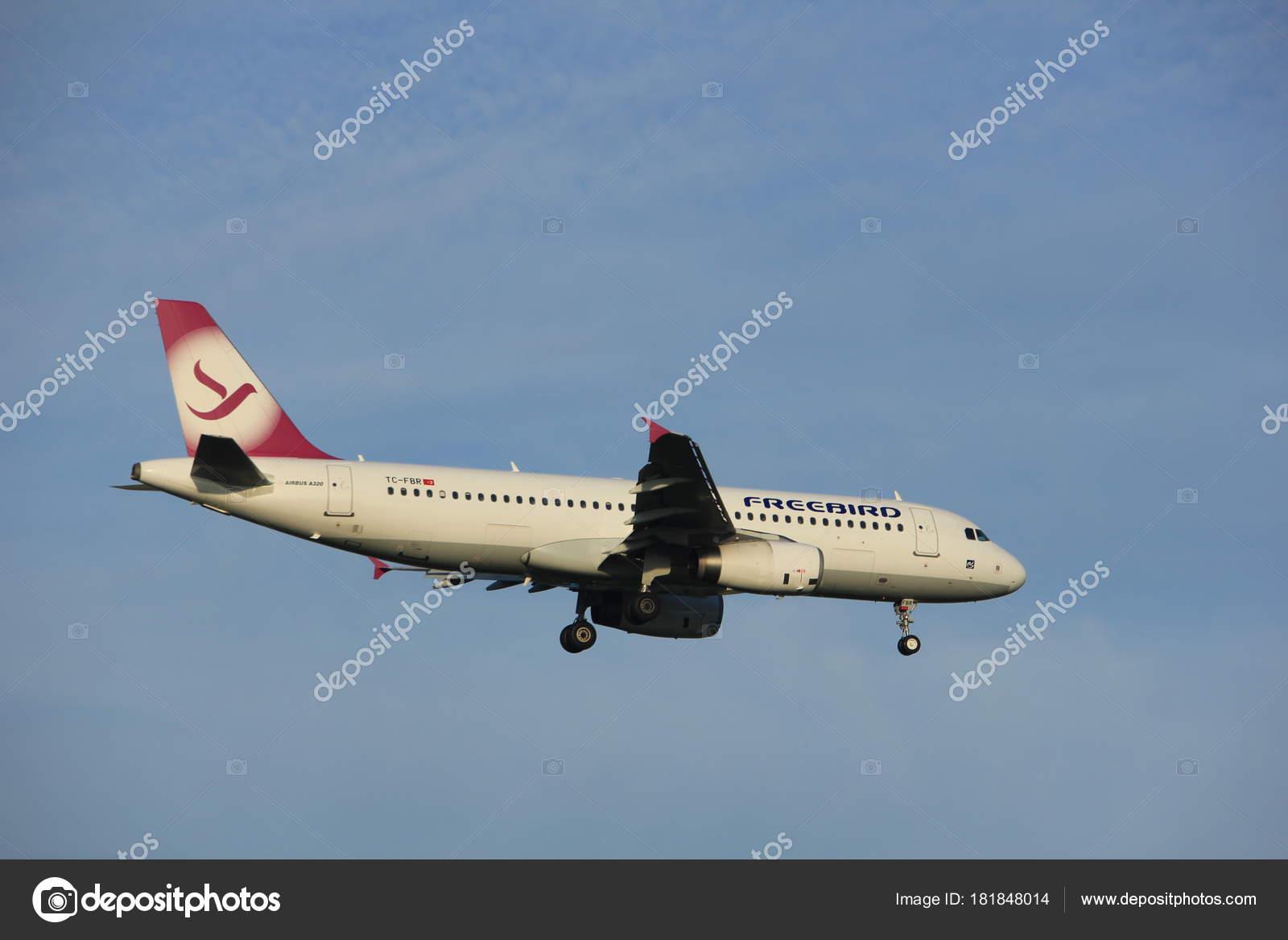 Amsterdam Niederlande 7 Juli 2017 Tc Fbr Freebird Airlines