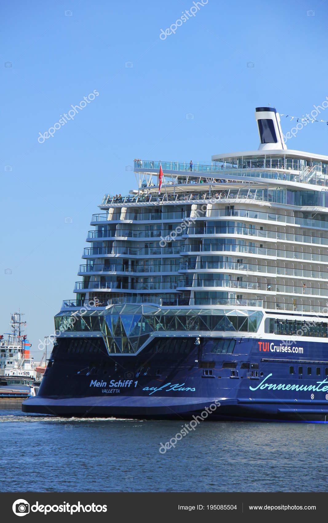 Velsen Die Niederlande 7 Mai 2018 Mein Schiff 1 Tui Cruises