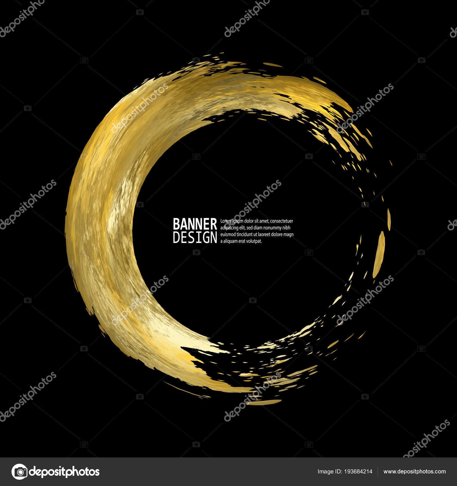 vector black gold design templates brochures flyers mobile