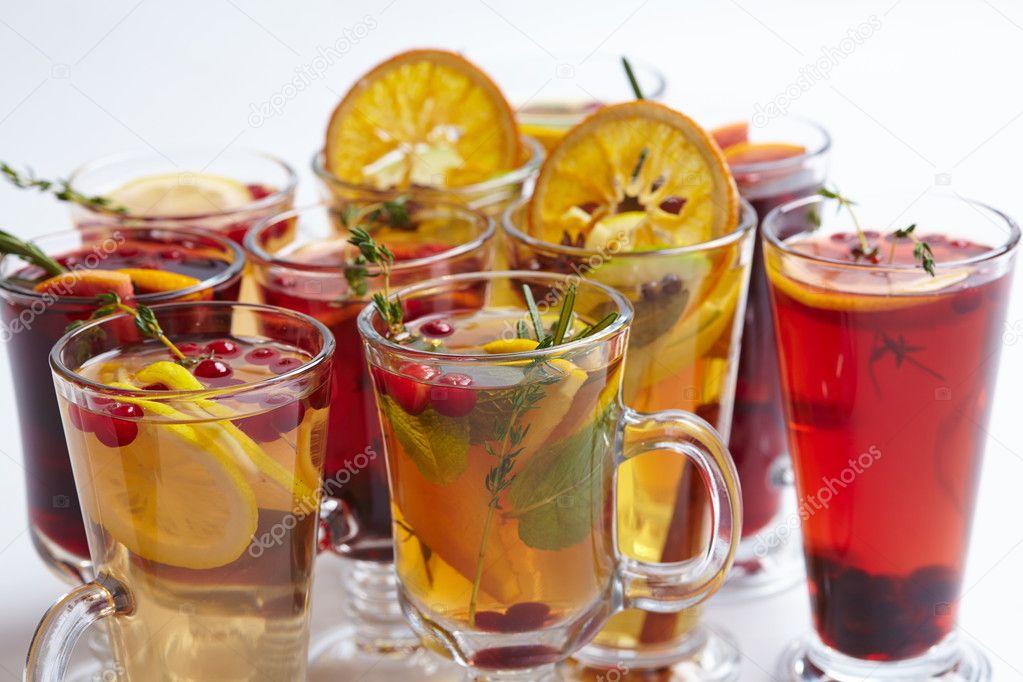gesunde Getränke Winter — Stockfoto © strelok #125037650