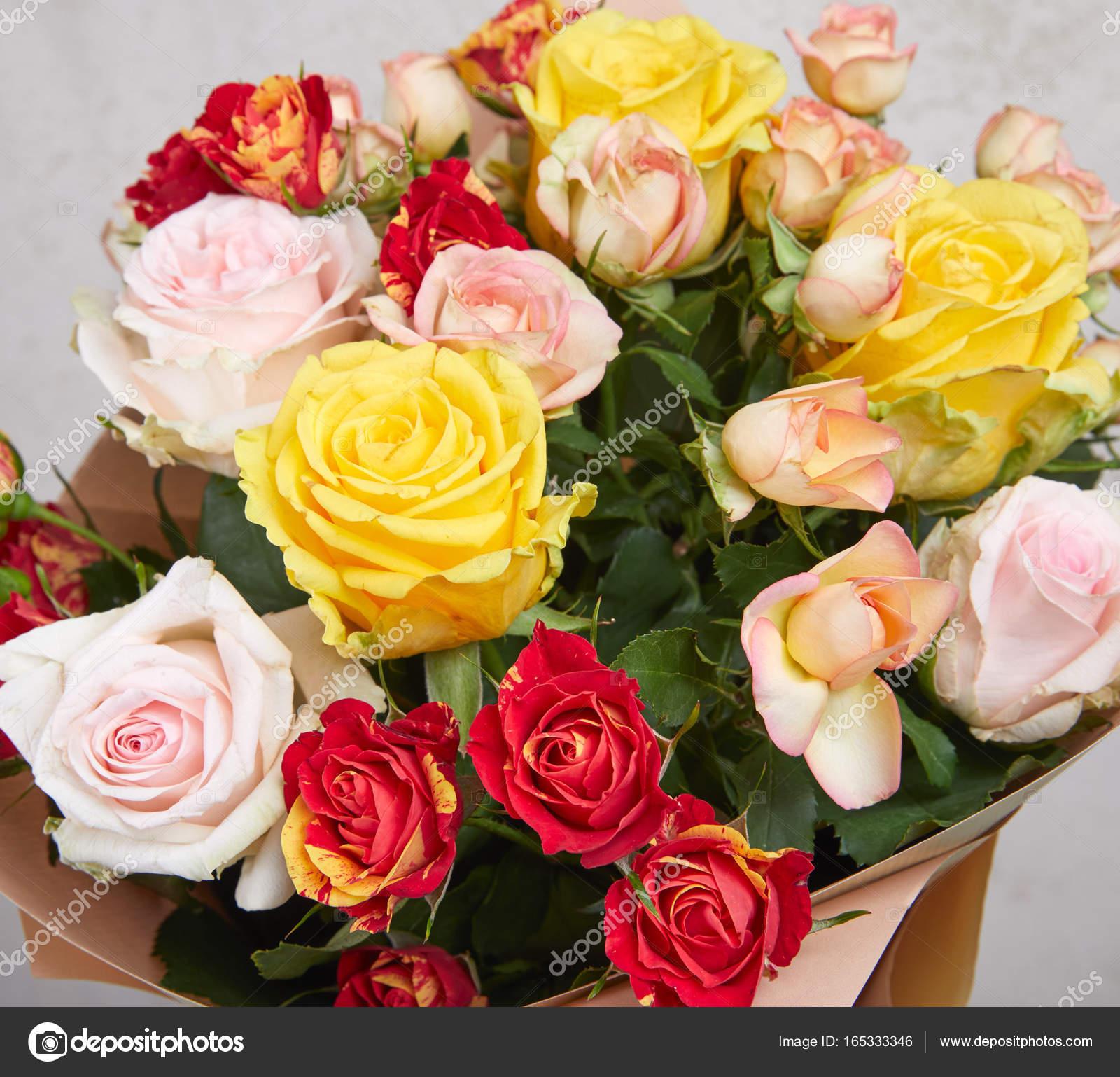 fresh flower bouquet — Stock Photo © strelok #165333346