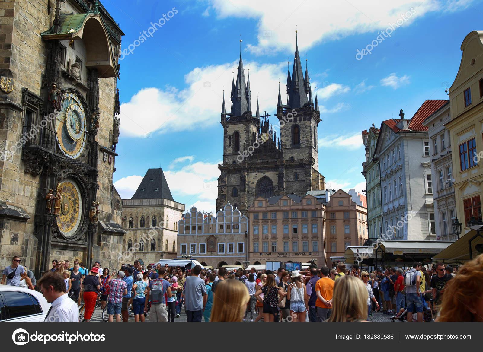 Cuándo hace mejor tiempo en Praga