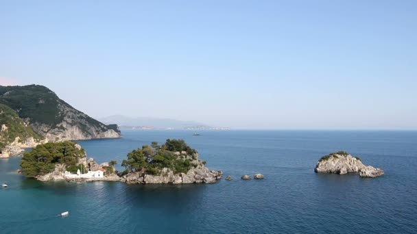 island Panagias seascape Parga Greece