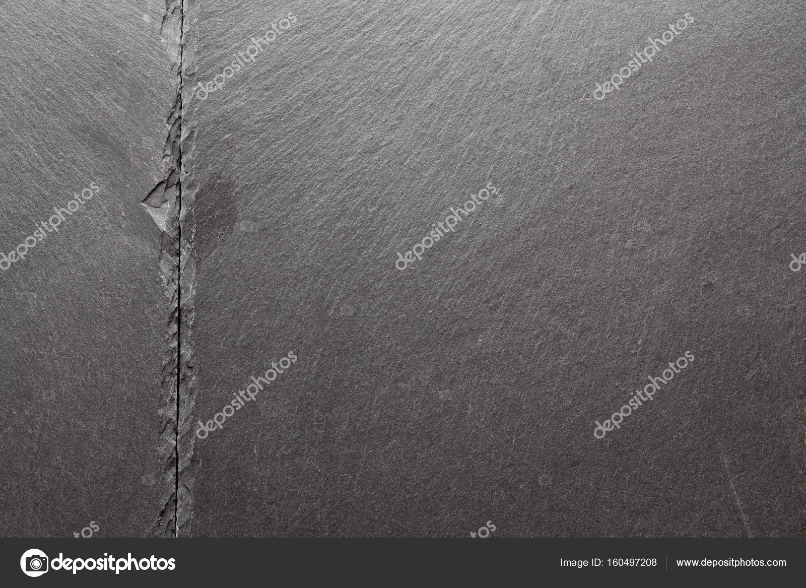 black stone plate background or texture stock photo digieye