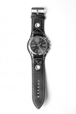 wrist men's watches isolated in white