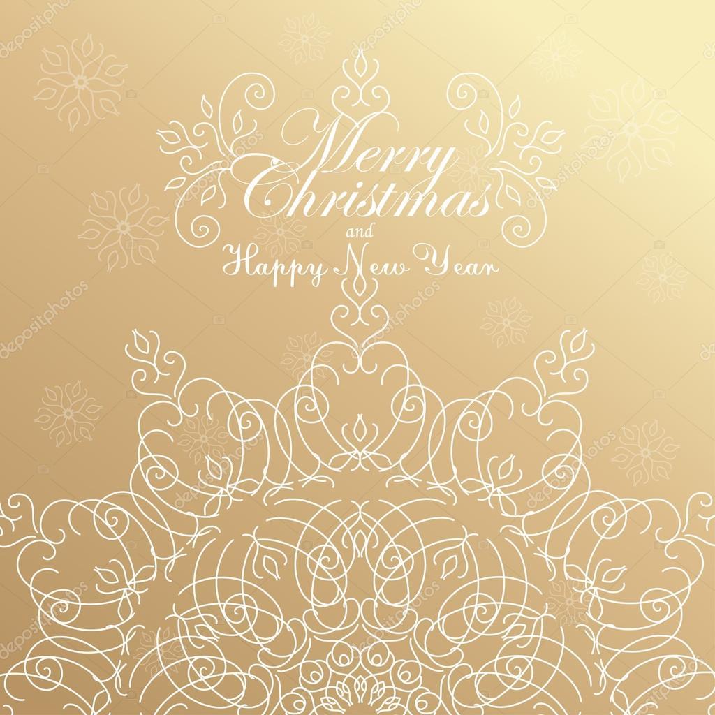 gefeliciteerd met kerstdagen Prettige kerstdagen en gelukkig Nieuwjaar. Gouden Gefeliciteerd  gefeliciteerd met kerstdagen