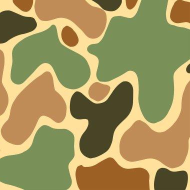 Camouflage background. Vector illustration