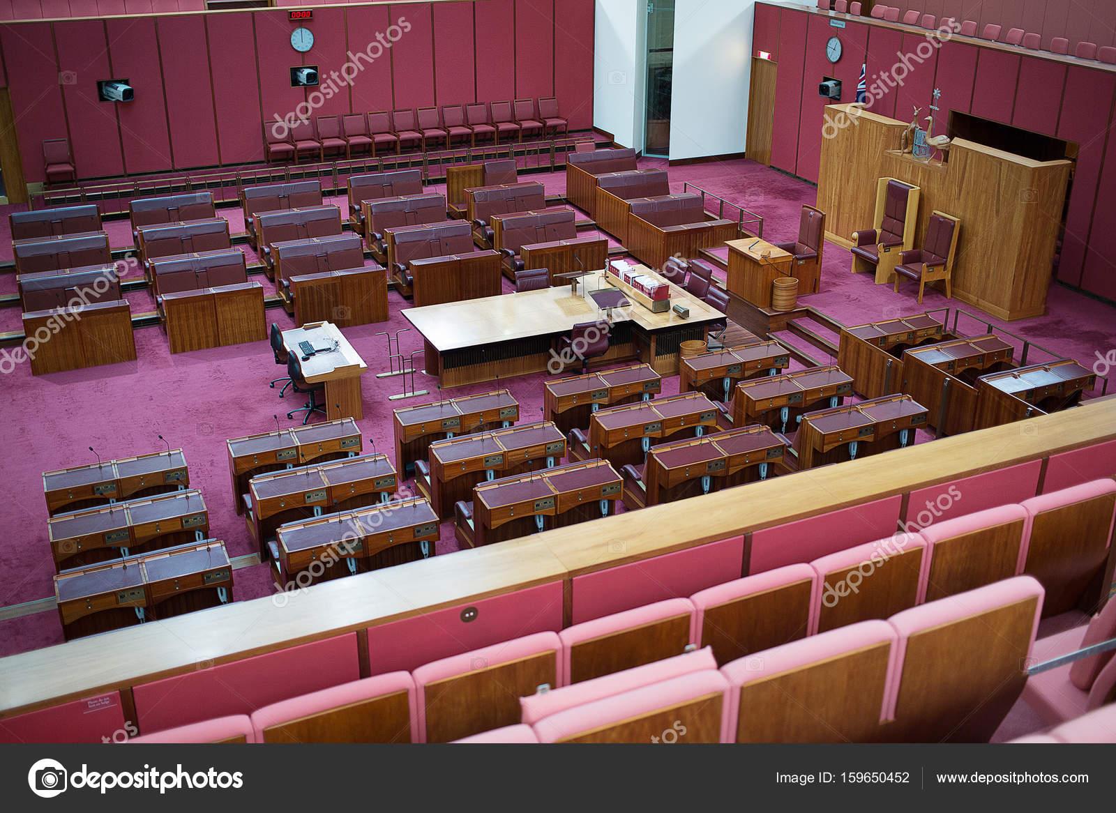 Australian Senate Parliament House – Stock Editorial Photo
