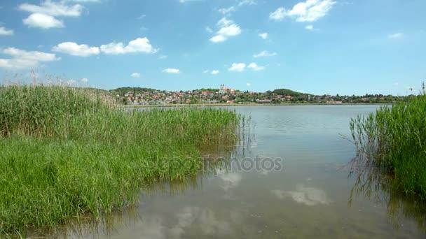 A Balaton Tihanyi táj