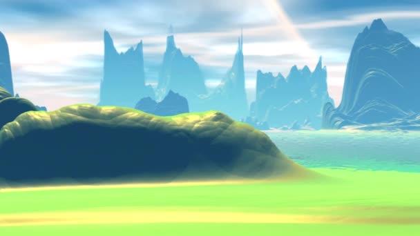 Fantasy idegen bolygón.