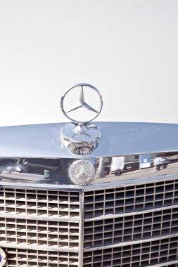 Emblem of car Mercedes-benz