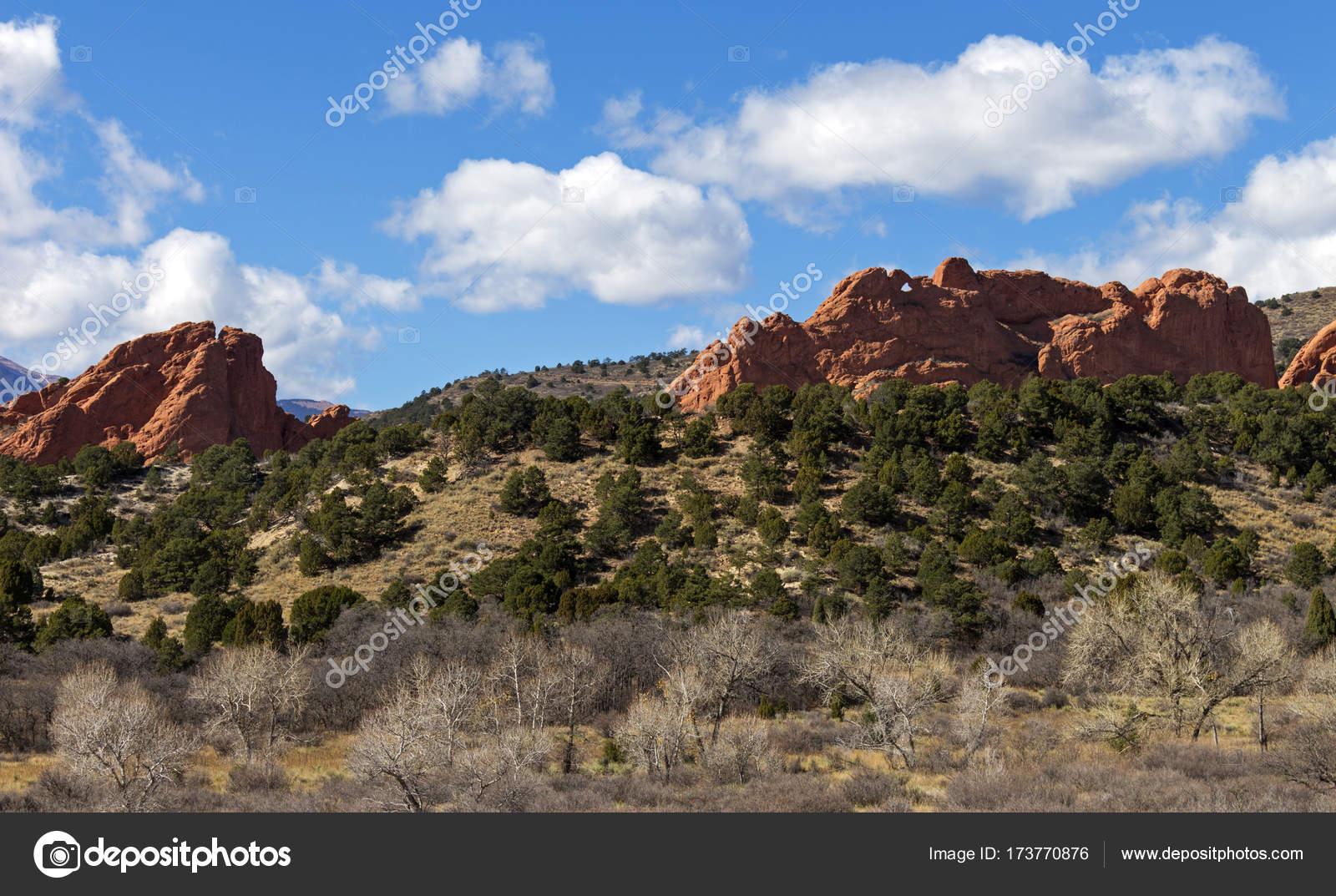 Garden of the gods Colorado Springs — Stock Photo © mikle15 #173770876