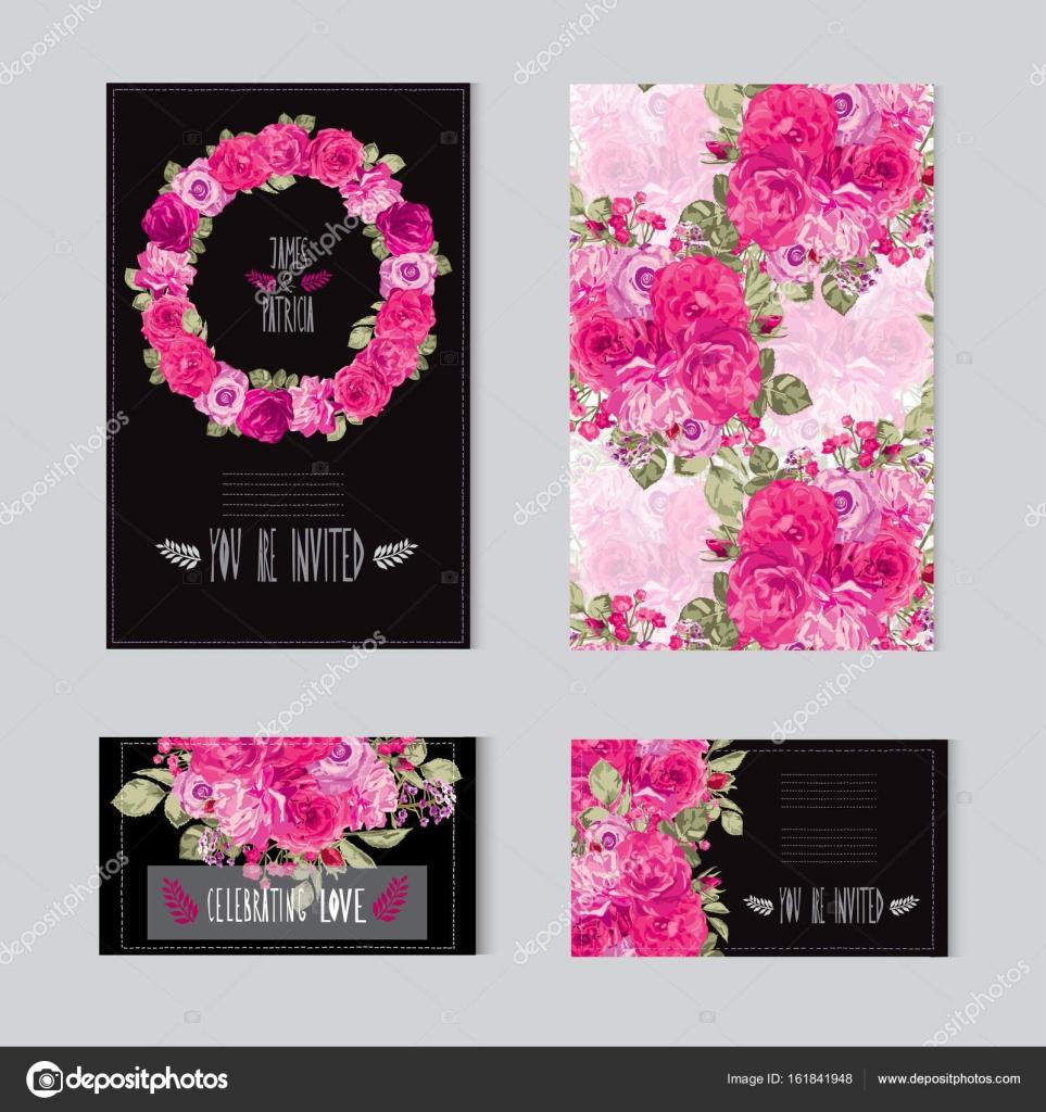 Invitaciones Cumpleaños Mujer Para Imprimir Conjunto De