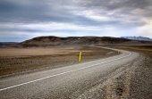 strada in Islanda