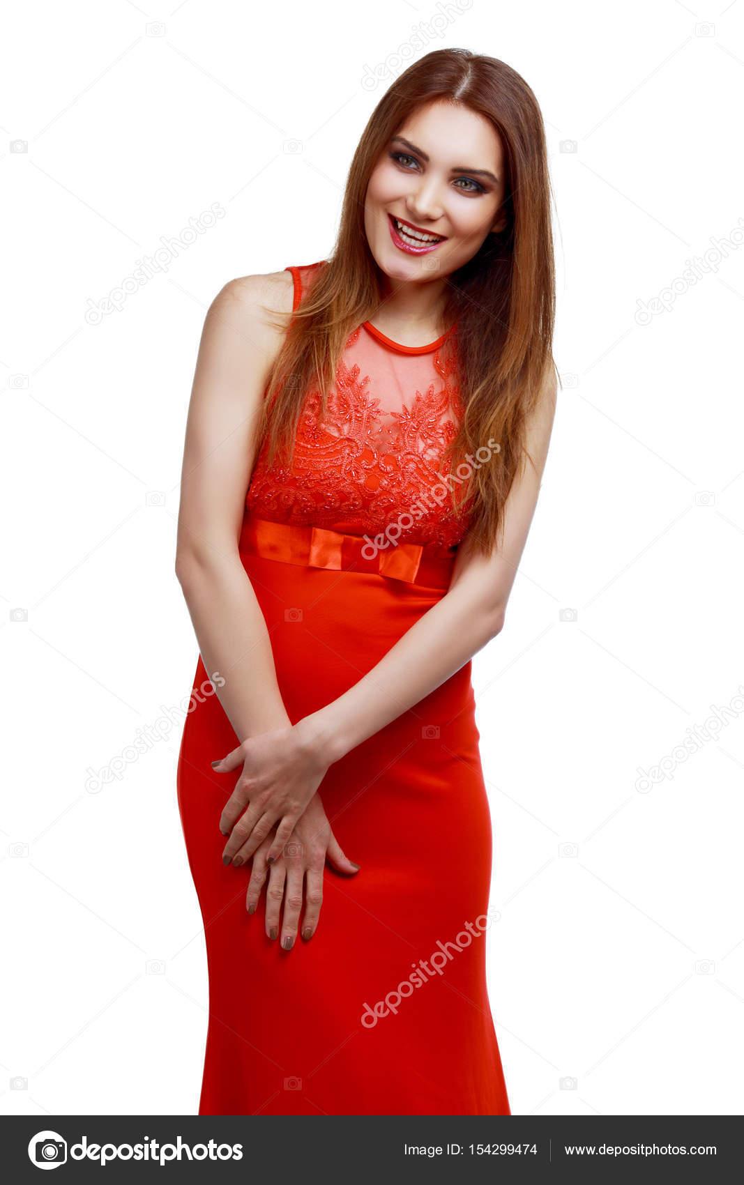 ac3ac920b29a Stock vestito lanakhvorostova 154299474 con © Foto rosso donna POpwqTW