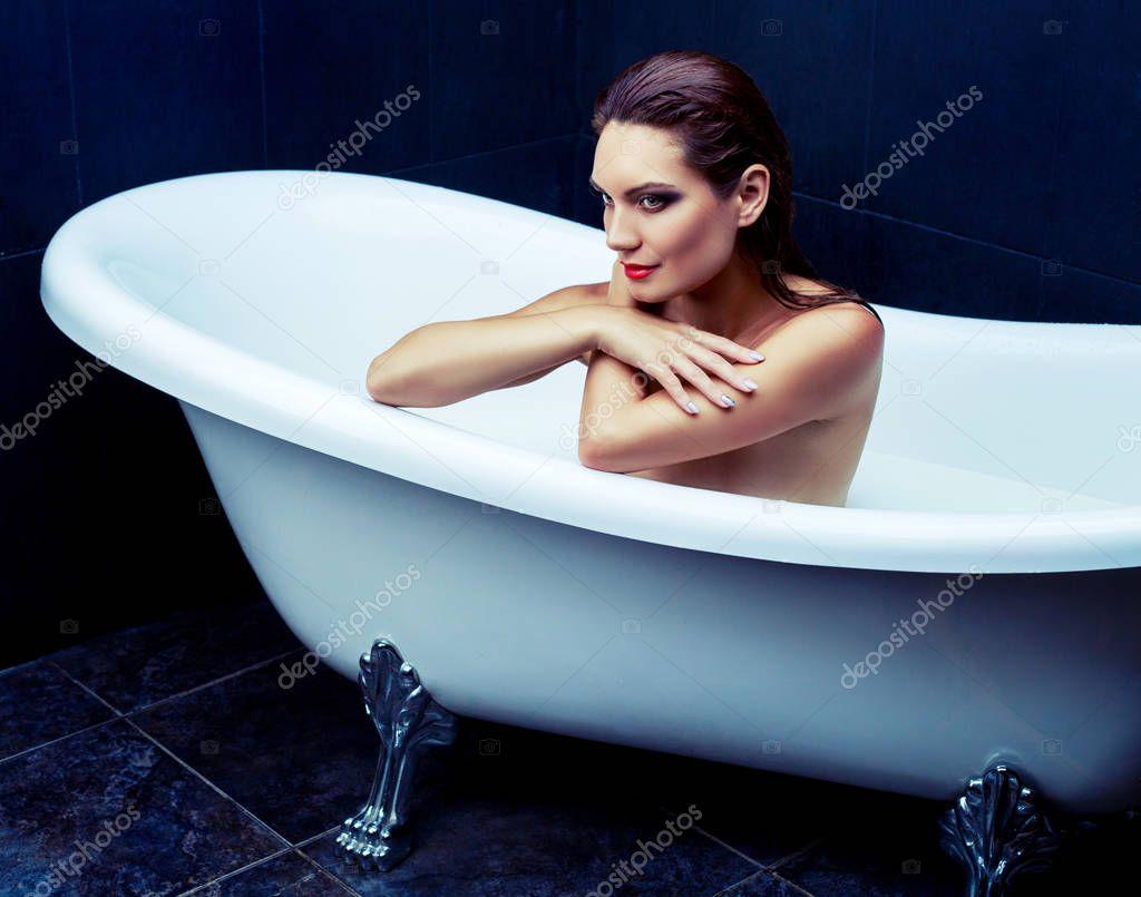 Lesbische badkuip