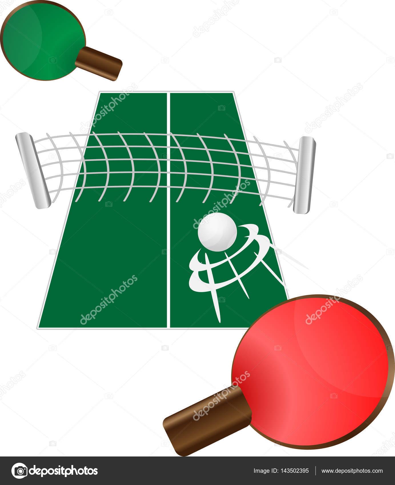 Tenis de mesa mesa de ping pong archivo im genes for Mesa tenis de mesa