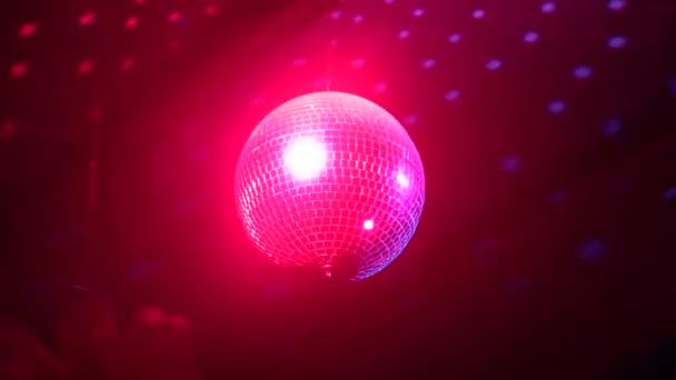 rotující disco zrcadlo bal