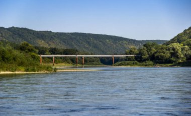 gas-pipe under the Dniester river