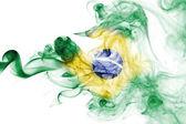 Kouř vlajka Brazílie