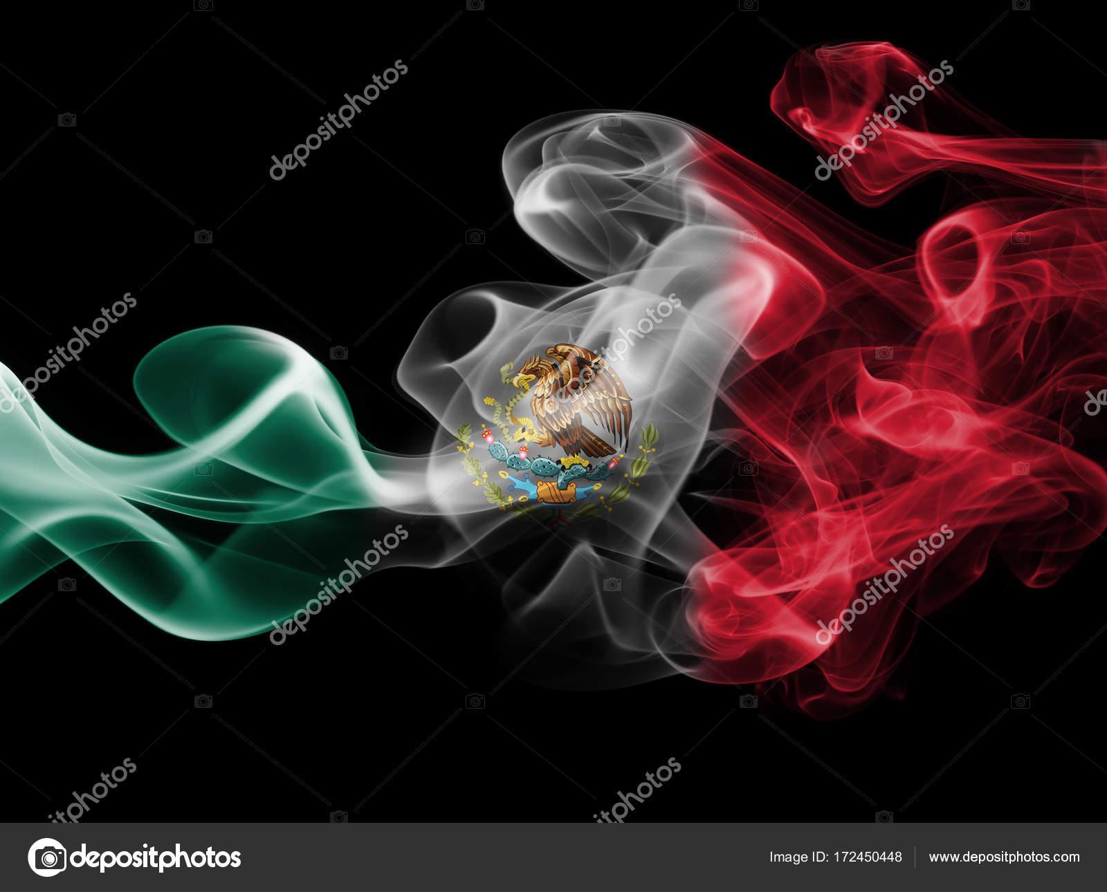 Bandera De Humo Nacional México