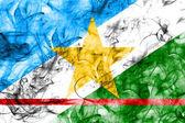 Roraima kouře vlajka, stát v Brazílii
