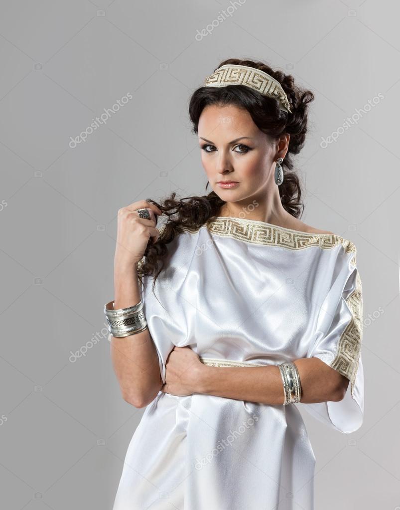 ece13e2c840615 Стародавній Рим жінок - богиня — Стокове фото — Красивий © zadiraka ...