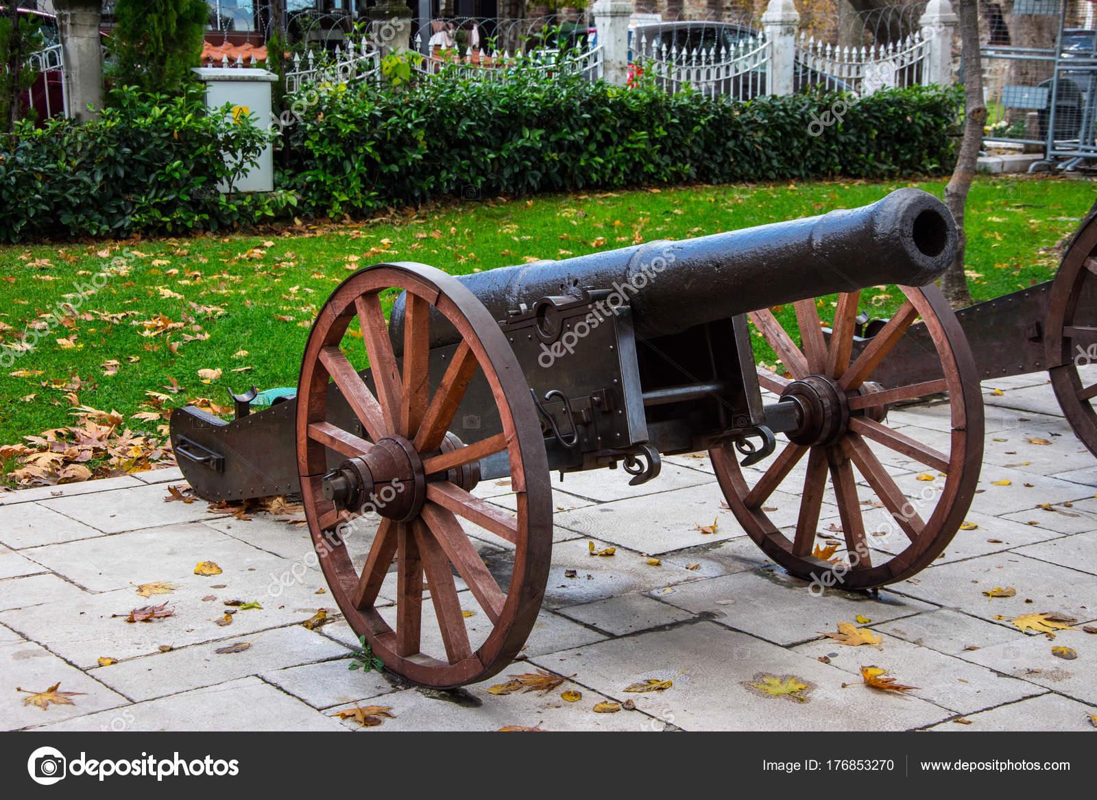 Old Ottoman Cannon In City Of Bursa Stock Photo Muamer 176853270