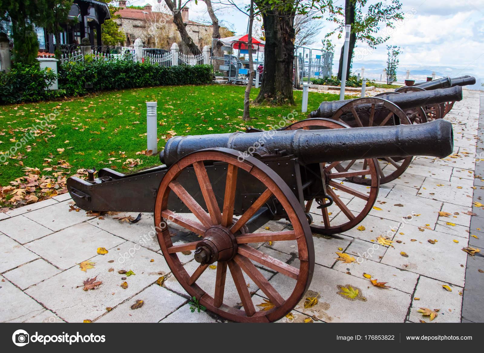 Old Ottoman Cannons In City Of Bursa Stock Photo Muamer 176853822