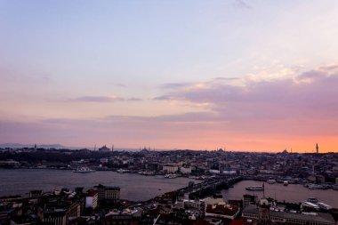 Istanbul city landscape