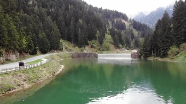 River on the Uzungol lake location near Trabzon