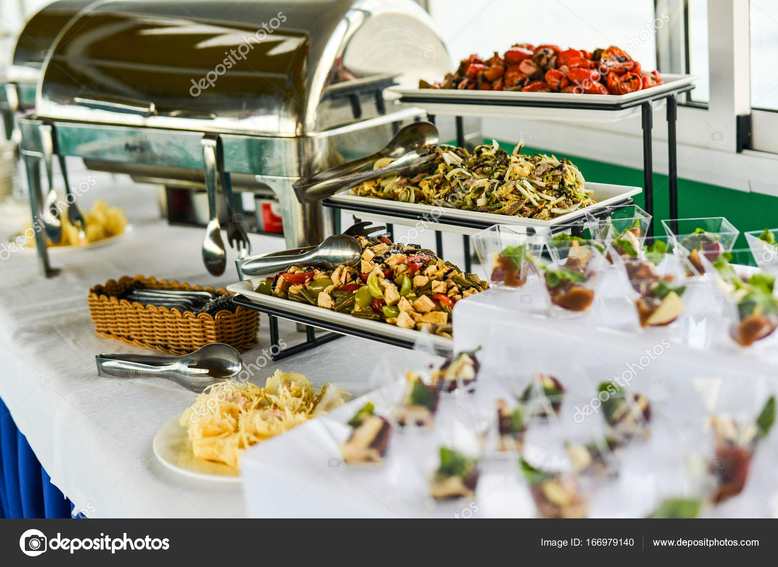 Buffet table Canape sandwiches snacks holiday table sliced glasses celebration new year christmas fourchette catering table setting u2014 Photo by Alex.S. & buffet table Canape sandwiches snacks holiday table sliced ...