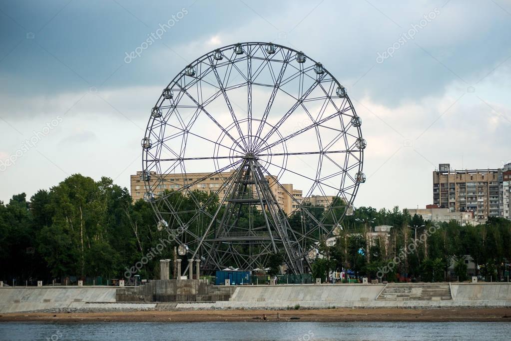 Khabarovsk Ferris wheel