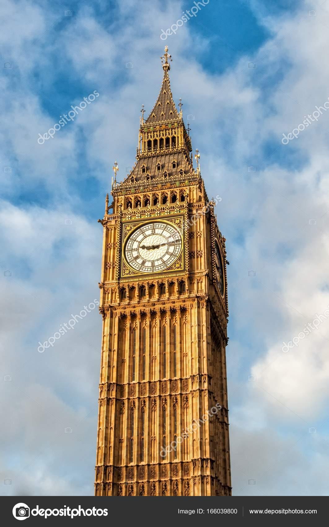 Big ben, london, Royaume-Uni — Photographie mitakag ...