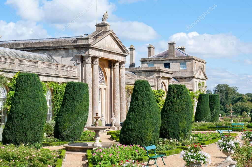 Bowood House and Gardens in Wiltshire, home of the Marquis and Marchioness of Lansdowne