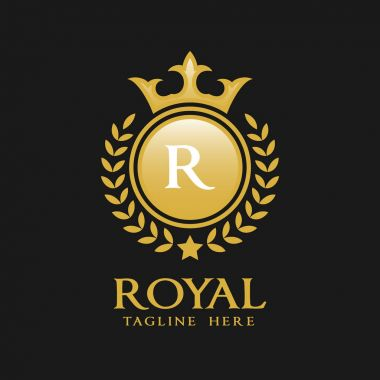 Letter R Logo - Classic Luxurious Style Logo Template