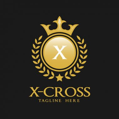 Letter X Logo - Classic Luxurious Style Logo Template