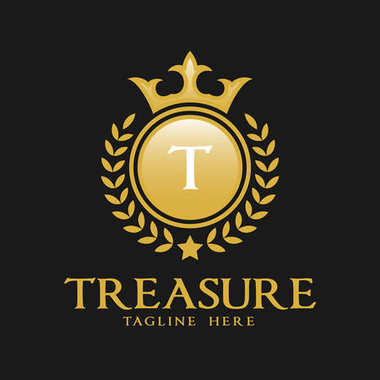 Letter T Logo - Classic Luxurious Style Logo Template