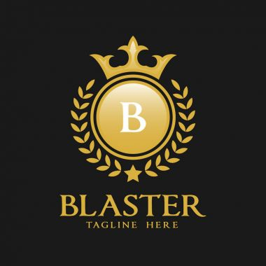 Letter B Logo - Classic Luxurious Style Logo Template