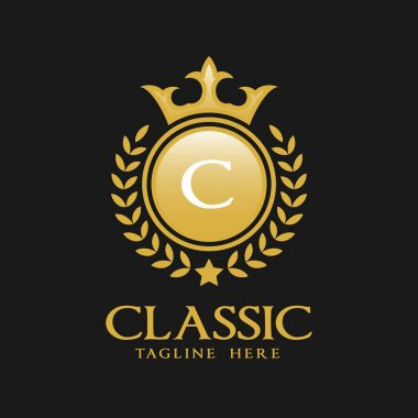 Letter C Logo - Classic Luxurious Style Logo Template
