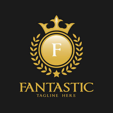 Letter F Logo - Classic Luxurious Style Logo Template