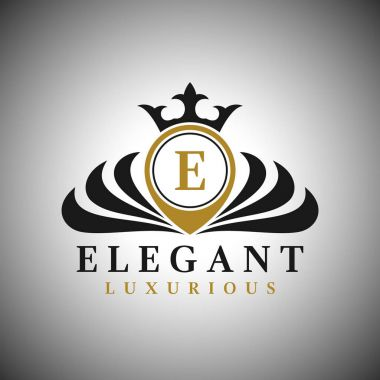 Letter E Logo - Classic Luxurious Style Logo Template