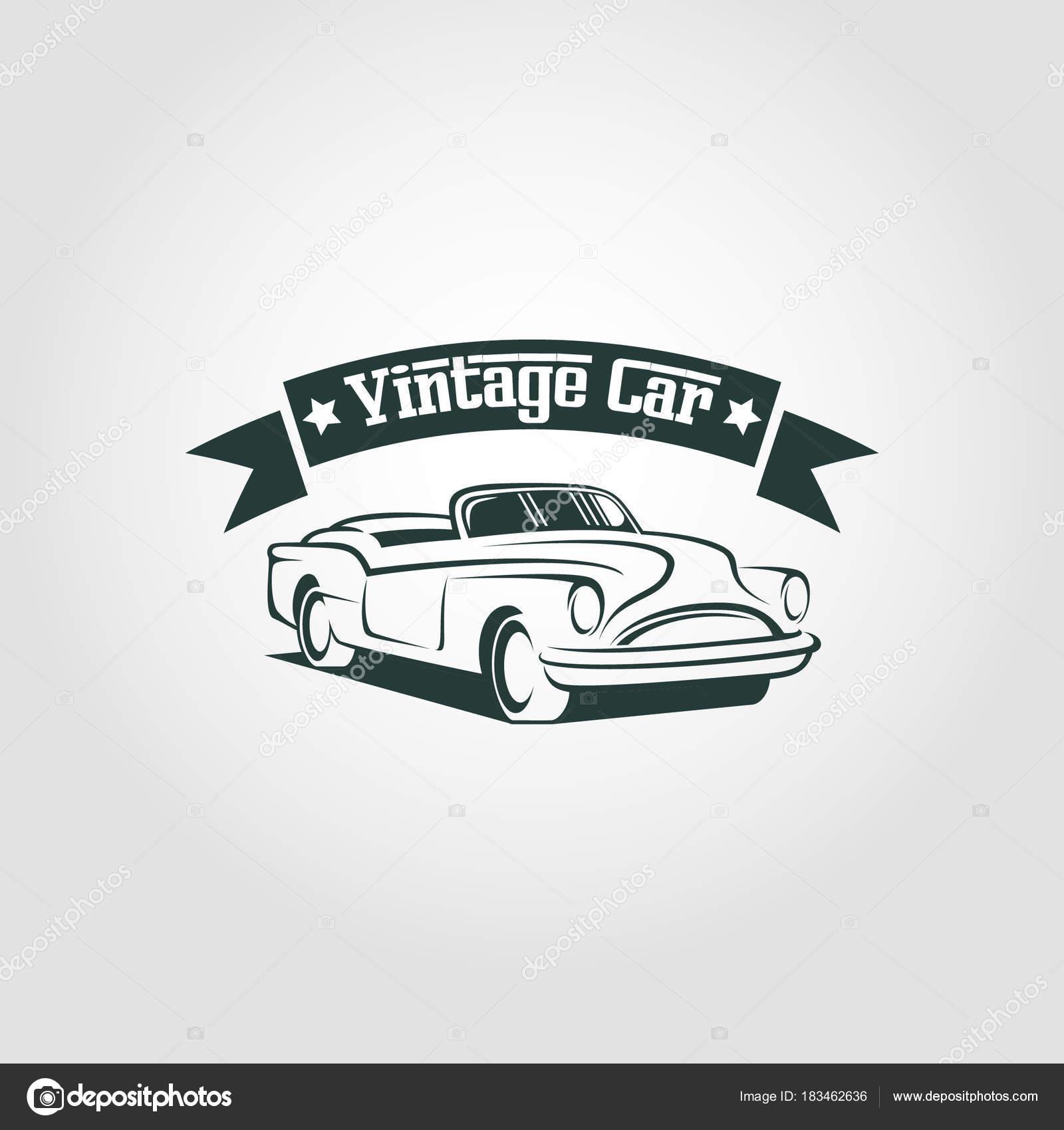 Vintage Car Logo Vector Stock Vector C Asmaraisme 183462636