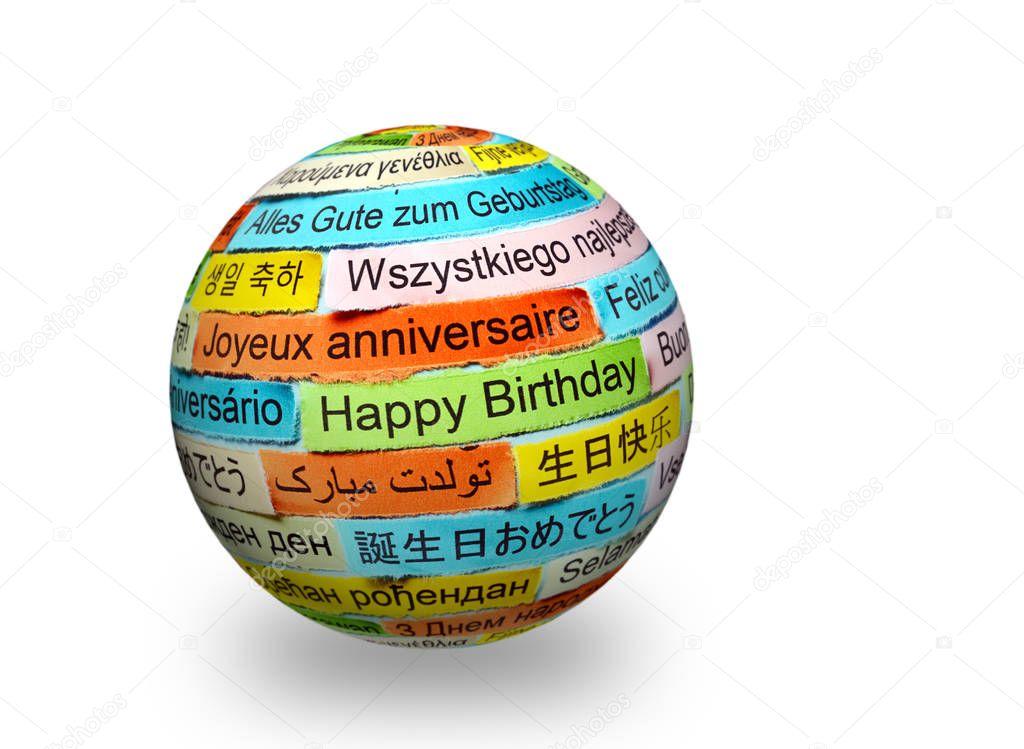 Frohe Weihnachten Verschiedene Sprachen Kostenlos.Alles Gute Zum Geburtstag In Verschiedenen Sprachen Auf 3d