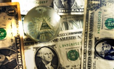 usd dollar bill eye pyramid mason