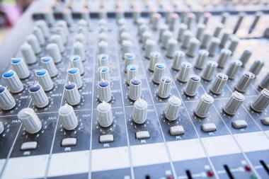 Audio Control Adjusting Knobs Sound Mixer