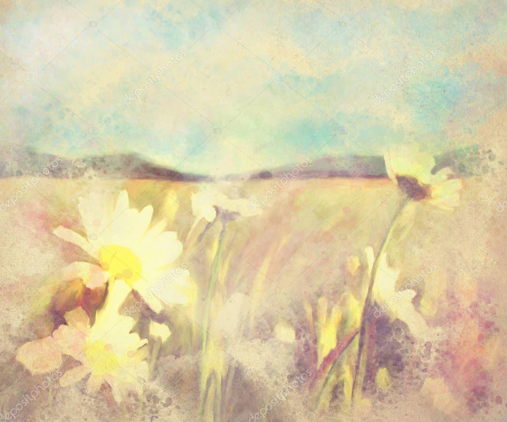 Фотообои акварель, пейзаж, весна, цветок, фон, иллюстрация, природа, цветочный, арт, дерево, цветы, рисунок, живопись, дизайн, пейзаж, лето, картинки, акварель, картина, сад, абстрактно, т
